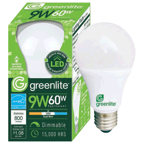Greenlite 9w Led Omnid A Type Bulb Dimmable Omni 800